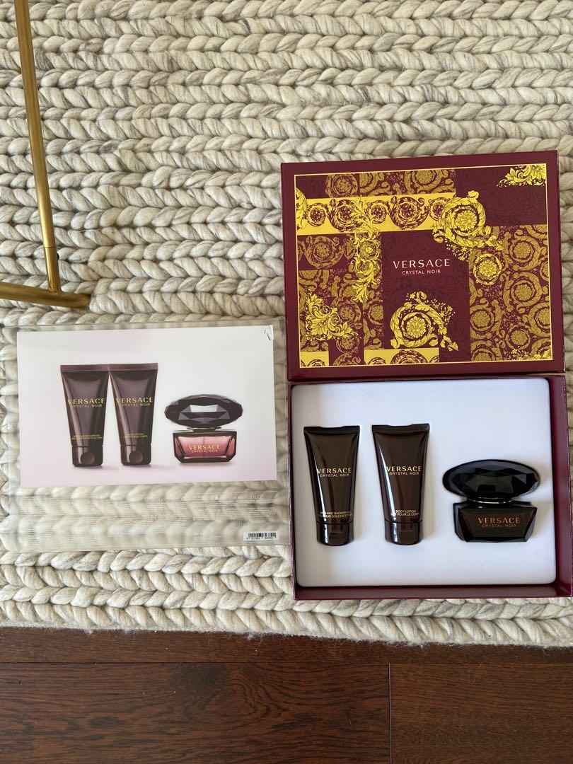 Versace Crystal Noir Fragrance Gift Set