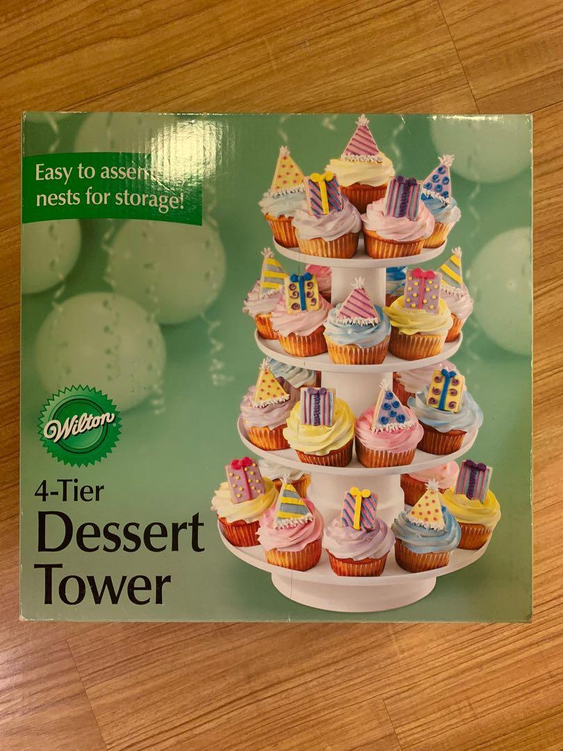 Wilson's 4-Tier Dessert Tower