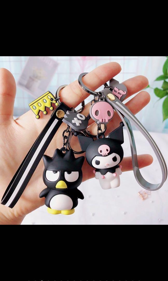 (二個)酷企鵝、米樂鑰匙圈