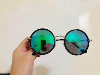 #斷捨離 全新復古太陽眼鏡 偏光鐳射款