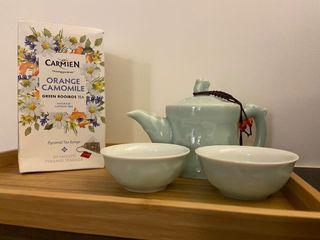 好市多買不到 南非進口 無咖啡因 三角茶包 立體茶包 博士綠茶 幫助睡眠 有效舒緩胃酸逆流及腸胃不適