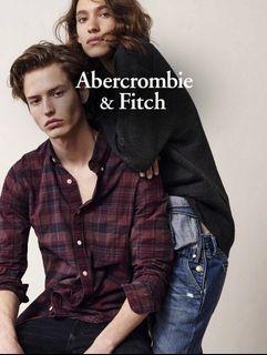 #母檔 Abercrombie & Fitch 男用冬厚外套 XXL (Muscle)