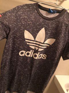 adidas 愛迪達 LOGO 男款 T恤 size:M