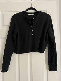 Aritzia Wilfred mavis shirt
