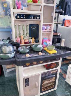 Children kids kitchen playset