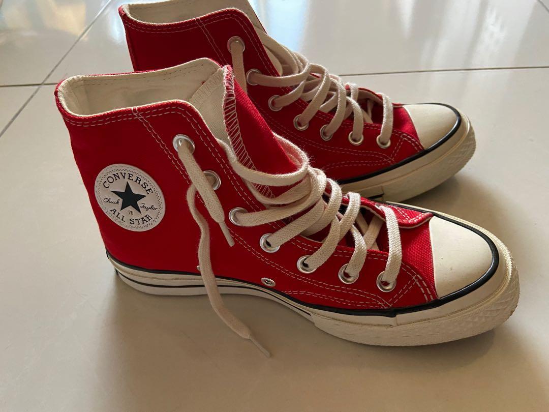 Converse中筒帆布鞋
