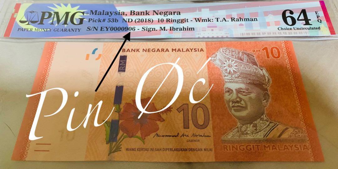 Malaysia MBI low number 906