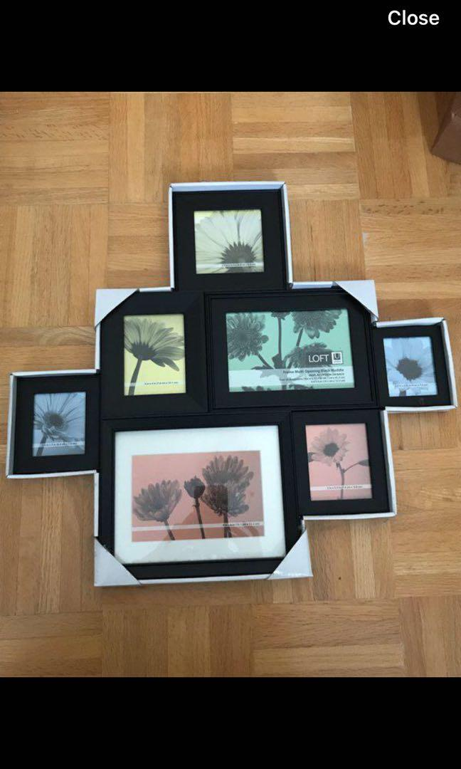 Multiframe picture display