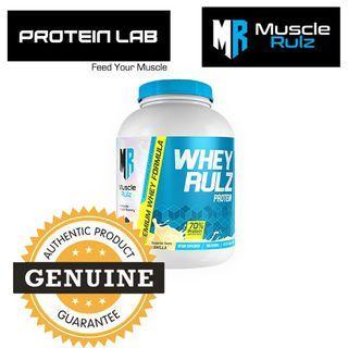 MuscleRulz WheyRulz 5lbs (Vanilla)