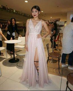 Nadine Lustre inspired gown by Mix Supetran