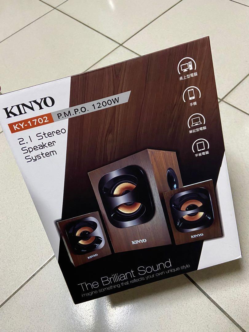 [New]KINYO 2.1多功能木質喇叭