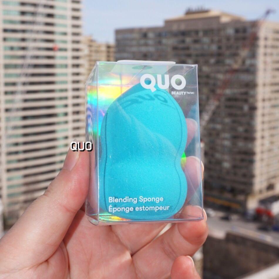 NWB✨ QUO Blending Sponge in Baby Blue