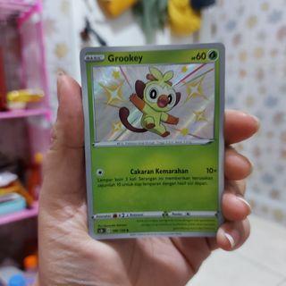Pokemon Card set 7 A - GROOKEY