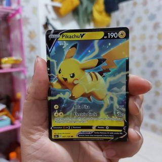 Pokemon Card set 7 A - PIKACHU