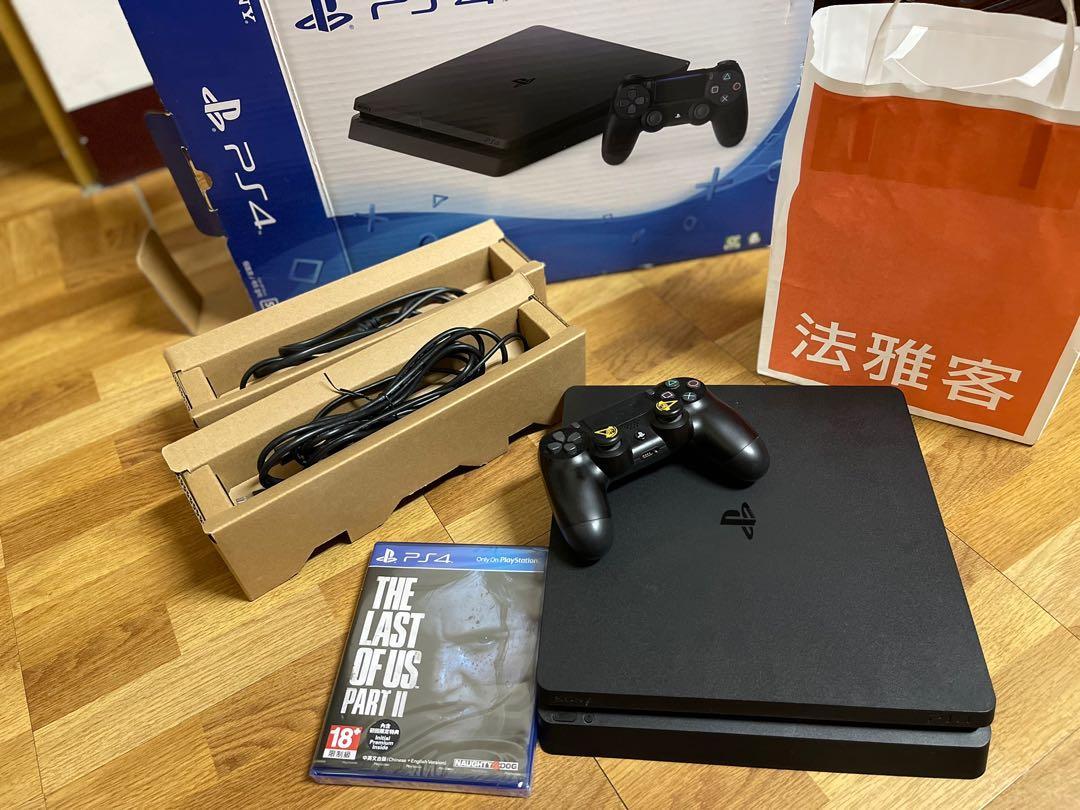 PS4二手500G(買就送1全新遊戲片