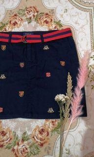 Ralph Lauren Rare Logo Skirt