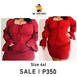 Shein plus size formal dress in rust HIGH QUALITY ON SALE