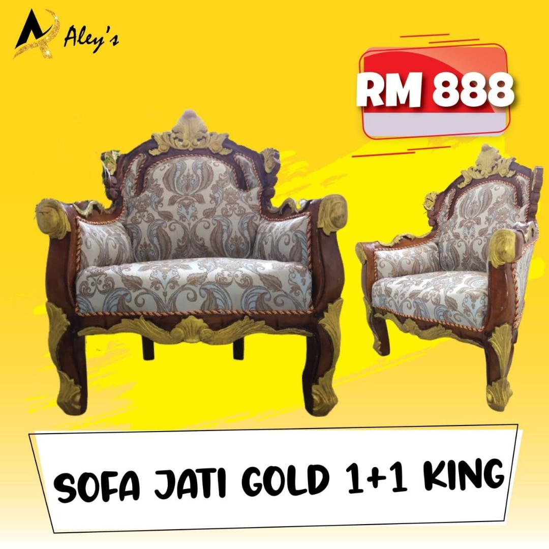 SOFA JATI GOLD 1+1 KING