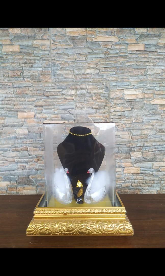 Tempat wadah kotak box boks mika seserahan mahar perhiasan kalung gelang anting
