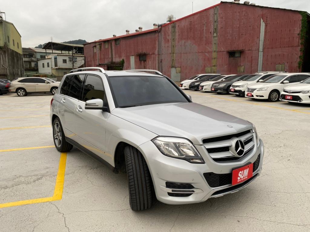 😍2015年式 M-Benz GLK220 柴油四驅頂級豪華版😍
