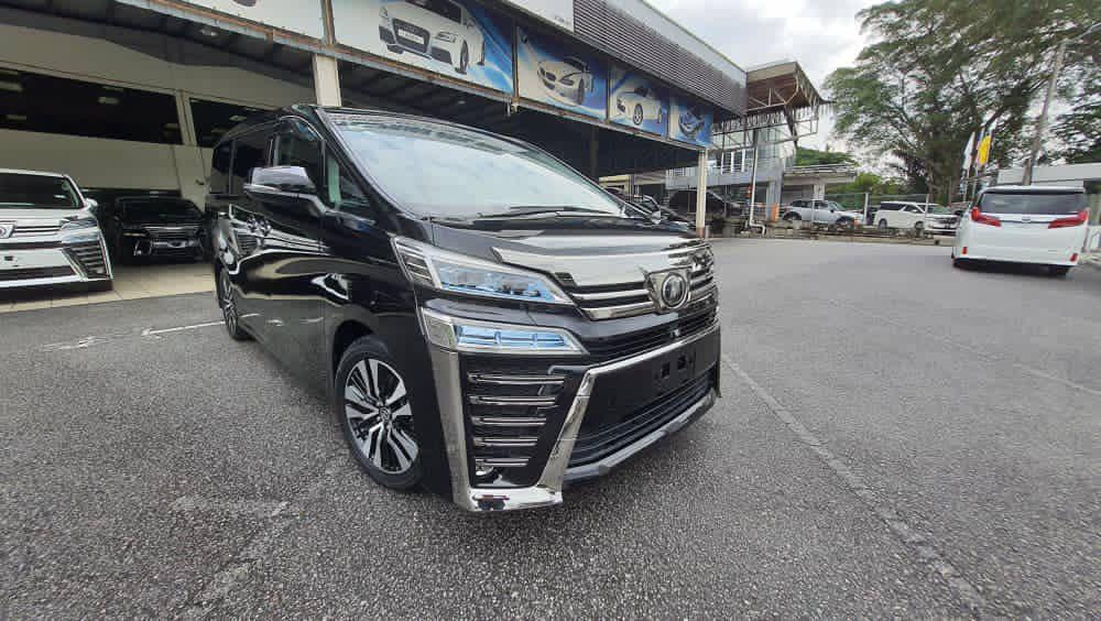 2018 Toyota Vellfire 2.5Z 2PD 7S ALPINE UNREG