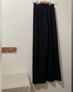 降價❗️必囤貨款超舒服黑色百搭針織寬褲落地褲