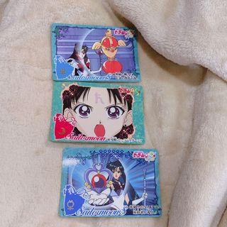 美少女戰士 早起日本老卡 三個一起賣