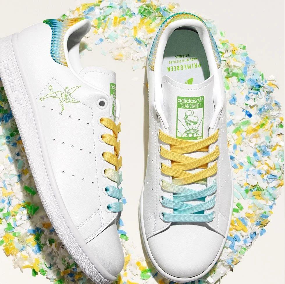 "Adidas Stan Smith Primegreen ""Tinkerbell"" 女鞋 休閒鞋"
