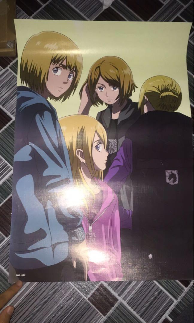 Attack on titan poster ,haikyu small file