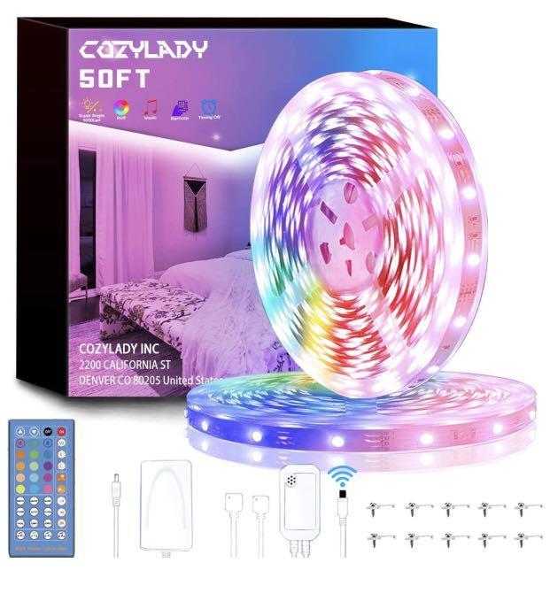 Brand new LED Lights Strip 50FT