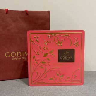 Godiva特選巧克力餅乾禮盒 46片