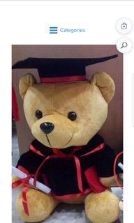 Graduation bear big