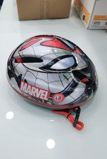 Helm sepeda anak element karakter spiderman