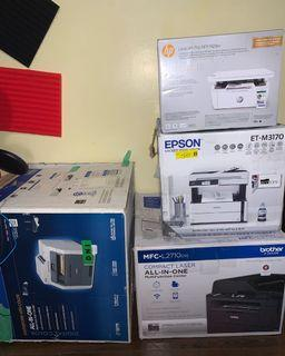 HP, Brother, Epson printers!