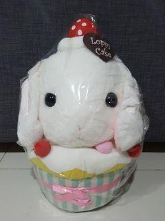 Huge Loppy with Cupcake plush toy 🎁
