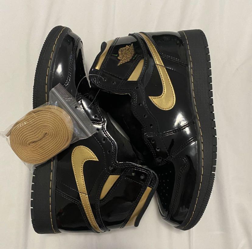 "Jordan 1 high ""Metallic Gold"""