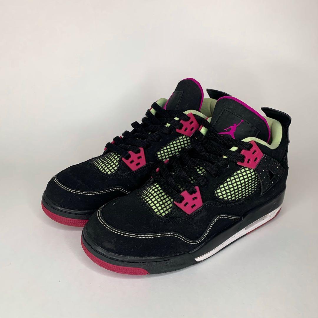 Jordan 4 Retro GG 'Fuchsia' Size 7.5Y