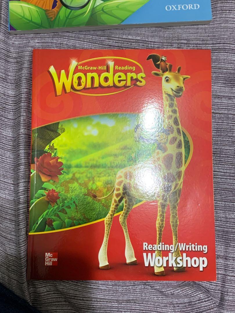 McGraw-Hiil Wonders reading/writing workshop