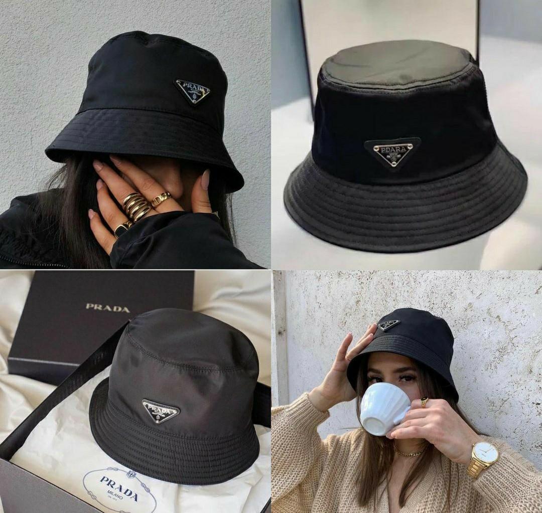 New bucket prada hat