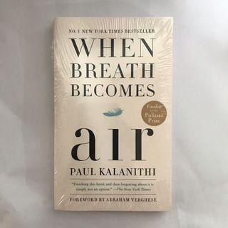 Novel Import - When Breath Becomes Air *New*