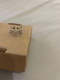 客訂兩件!✨Ralos 925銀 日系復古簡約銀色戒指