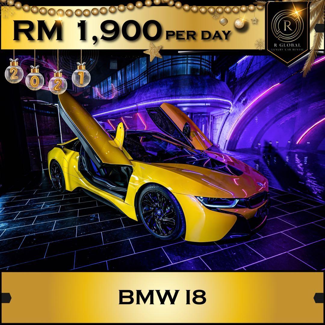Rent a BMW i8 in Kuala Lumpur
