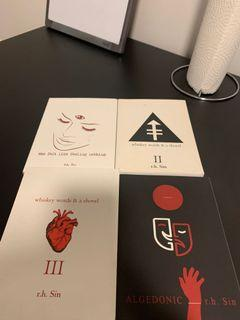 R.H sin poetry books