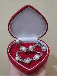 Set Pearl Jewelry