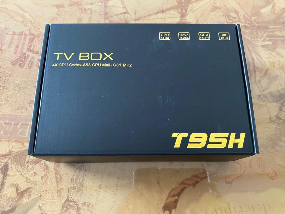 T95H機頂盒 高清網絡播放器TV BOX