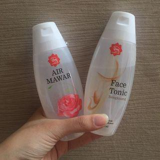 TAKE ALL viva rose water + viva face tonic bengkoang
