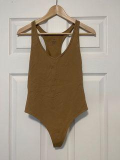 Tna brown bodysuit
