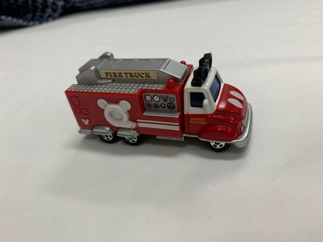 TOMICA 多美小汽車  迪士尼小汽車 DMA-10 10週年夢幻米奇消防車