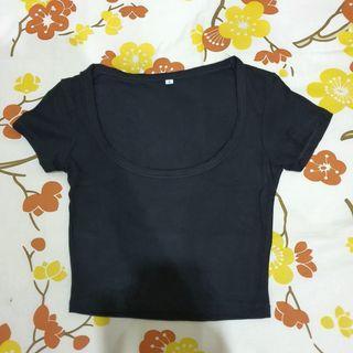 T-shirt Wanita Hitam Kaos