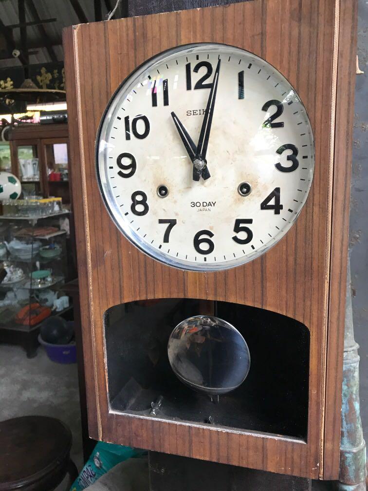Vintage jam kunci  ,30 DAY,( SEIKO , Japan )
